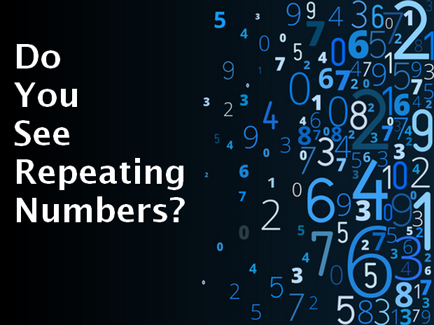 do you see repeating numbers