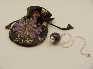 Dowsing Pendulum and Pouch