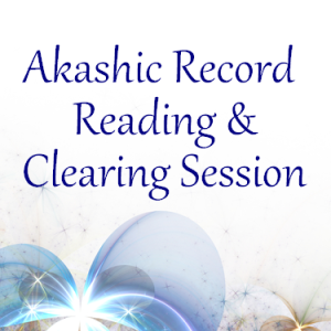 akashic record reading and clearing session