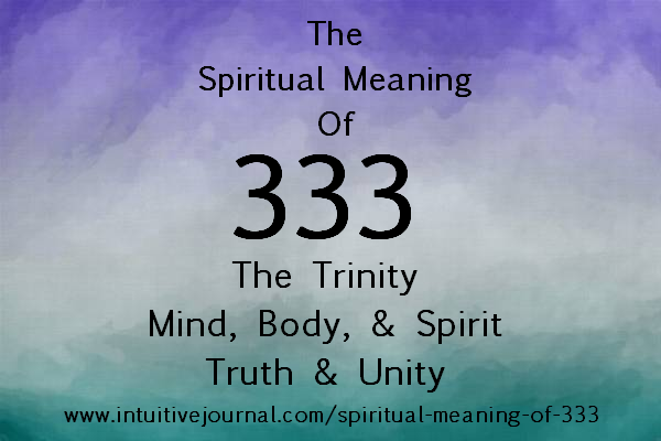 Spiritual Meaning Of 333 Intuitive Journal Angel Number 333