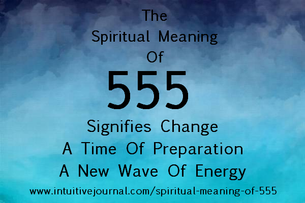 spiritual meaning of 555 - angel number 555
