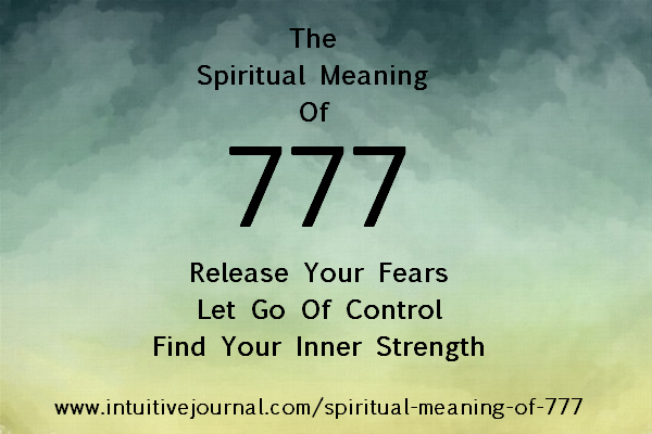 spiritual meaning of 777 - angel number 777