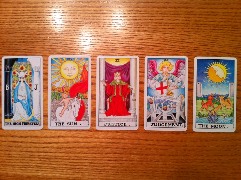 Tarot Answer 9-9-11 - remote viewing practice