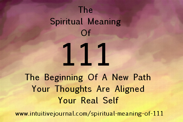 Spiritual meaning of 111 intuitive journal angel number 111 malvernweather Images