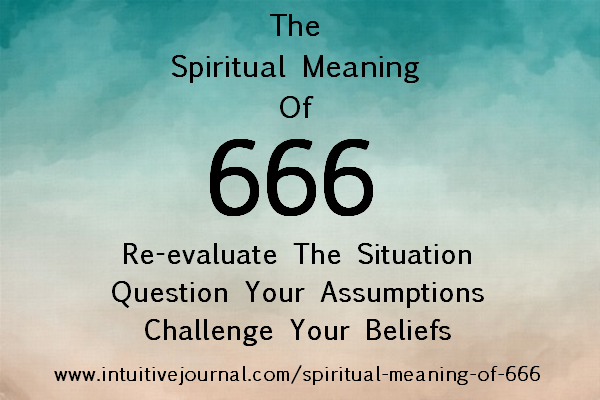 666 Angel Number The Spiritual Meaning Of 666